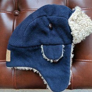 GapKids lined hat dark blue L/XL